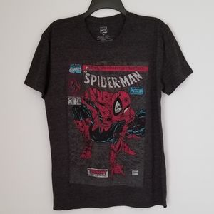 Nwot Marvel spiderman retro t- shirt